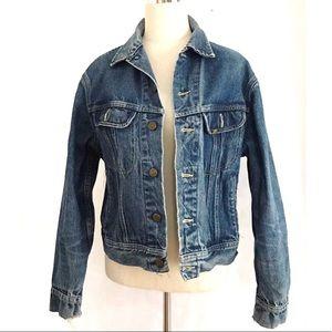 Vintage Lee Denim Jean Jacket Large
